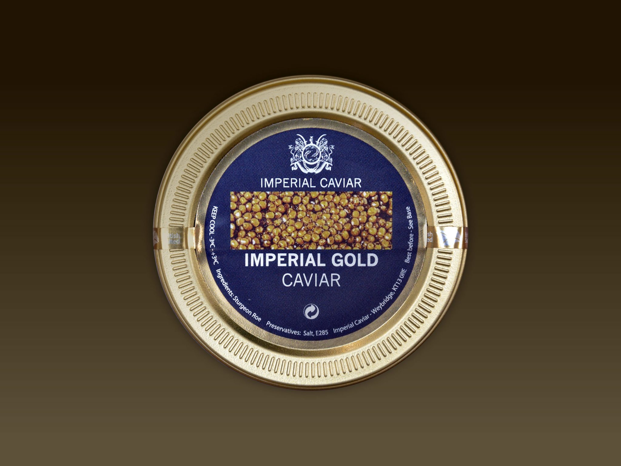 Imperial Gold Caviar