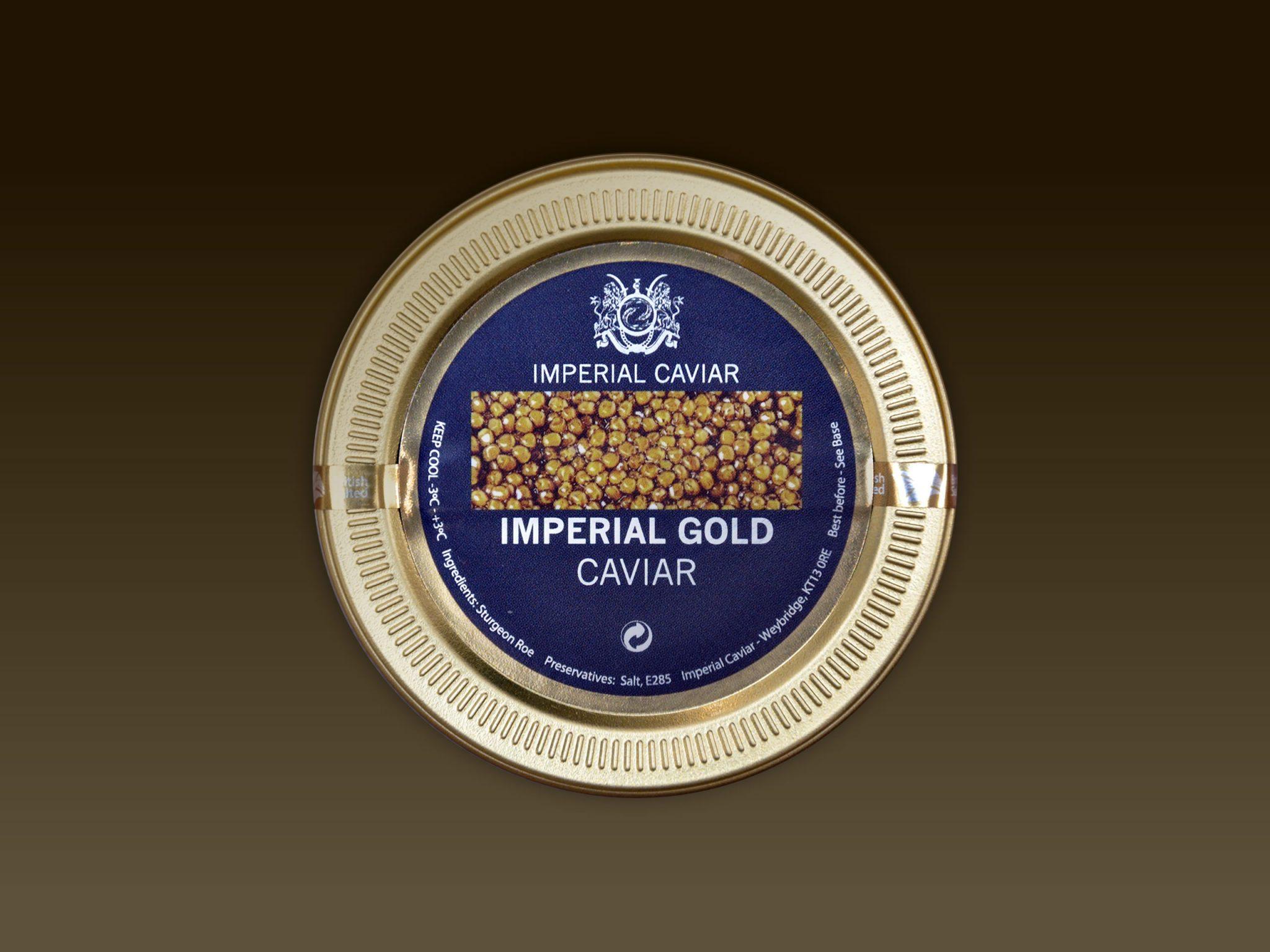 Imperial Gold Caviar