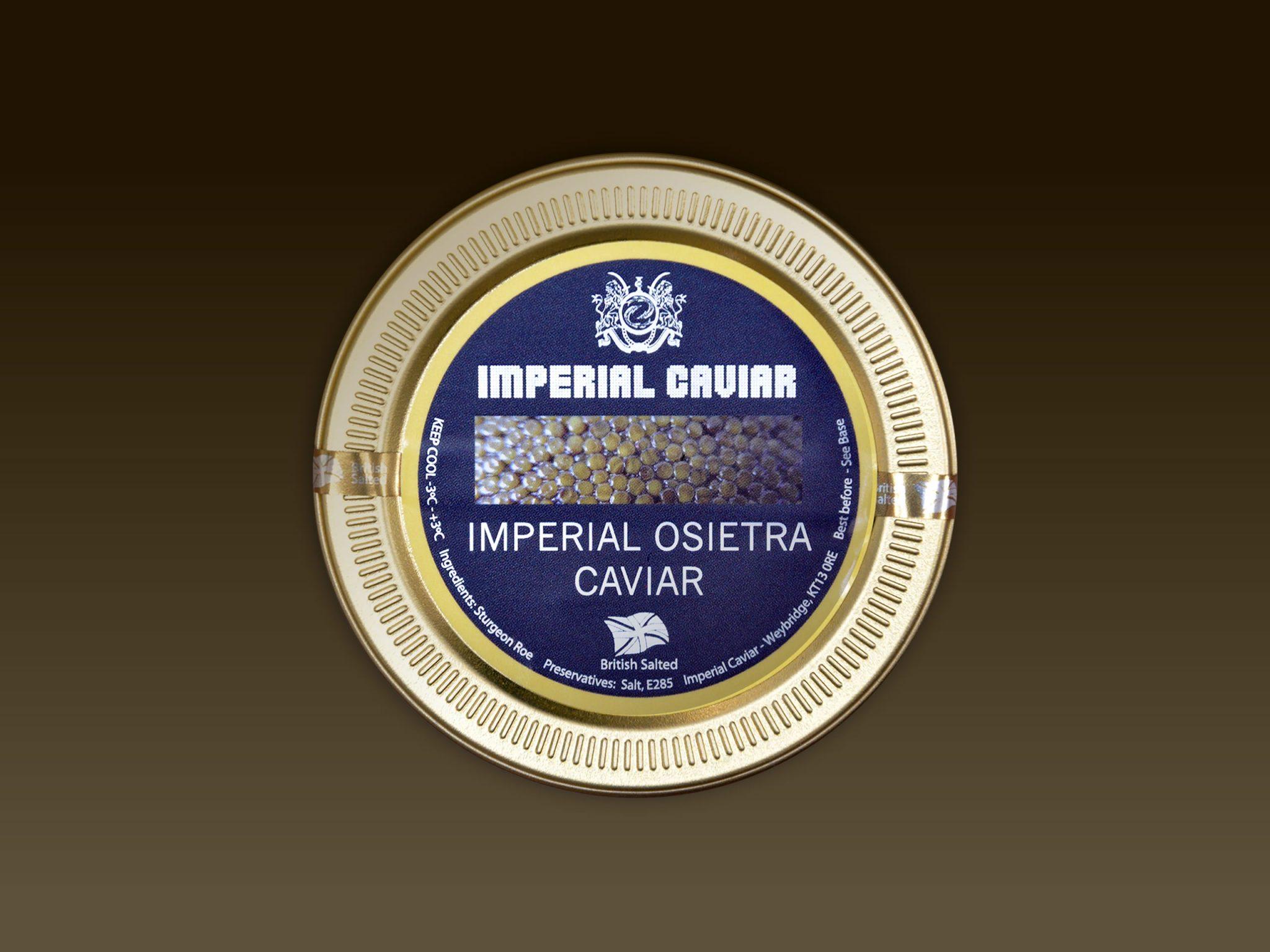 Imperial Osietra Caviar