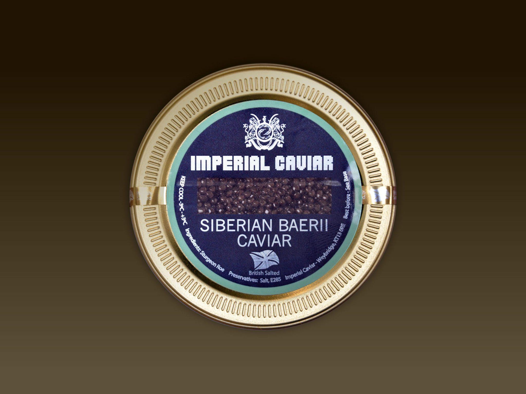 Siberian Baerii Caviar